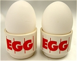Click to view larger image of Two Hornsea Egg Cups (Image1)