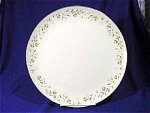 Click here to enlarge image and see more about item 118: Rambling by Mikasa Dinner Plate