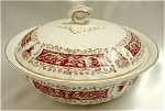 Click here to enlarge image and see more about item 121: Myott 'Rialto' Covered Serving Dish/Bowl