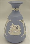Click here to enlarge image and see more about item 123: Wedgwood Blue Jasper Bud Vase