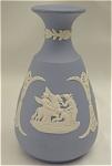 Click to view larger image of Wedgwood Blue Jasper Bud Vase (Image1)