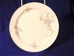 Brides Bouquet Bread Plate - TS & T