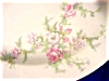 Click to view larger image of Brides Bouquet Bread Plate - TS & T (Image2)