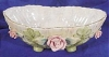 Click to view larger image of Lefton Bisque Decorated Bowl w/Pink Roses (Image2)