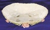 Click to view larger image of Lefton Bisque Decorated Bowl w/Pink Roses (Image4)