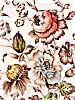 "Click to view larger image of ""Bouquet"" Staffordshire 10in. Dinner  Plate (Image3)"