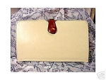 Click here to enlarge image and see more about item 146: Vintage 2-in-1 Clutch Purse