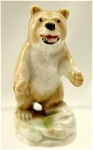 <b>This detailed grizzly is from set 9 of the first series of Whimsies.    Set 9 was called the North American Animals.   Mold mark: Wade