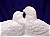 Click to view larger image of Westmoreland Milk Glass Love Birds 2pc Dish (Image2)