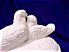 Click to view larger image of Westmoreland Milk Glass Love Birds 2pc Dish (Image3)