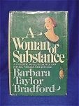 Click here to enlarge image and see more about item 441: 1979 A WOMAN OF SUBSTANCE- Barbara Bradford