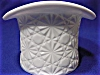 Click to view larger image of Fenton Daisy Button Milk Glass Top Hat (Image3)