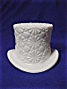 Click to view larger image of Fenton Daisy Button Milk Glass Top Hat (Image4)
