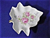 Click to view larger image of Lefton Leaf Nut Dish with Rose Design (Image2)