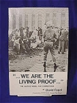 Click here to enlarge image and see more about item 243193: We Are The Living Proof...David Fogel