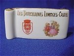 Click here to enlarge image and see more about item 245518: Les Porcelaines Limoges-Castel Display Stand