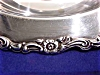 Click to view larger image of Sterling Silver Plated Wm. A. Rogers Footed Fruit Bowl (Image2)