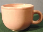 Click here to enlarge image and see more about item 299: Beautiful Two-Tone Pink Cup - Made in Italy