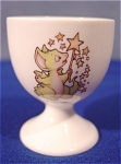 1997 Pocket Dragon Easter Egg Cup ~ Signed