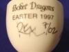 Click to view larger image of 1997 Pocket Dragon Easter Egg Cup ~ Signed (Image3)