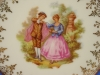 Click to view larger image of French Limoges Courtship Plate (Image2)
