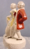 Click to view larger image of Dancing Pair Figurine - Occupied Japan (Image6)