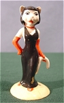 <b>  Sexy vocalist cat, Purrfect Pitch, is just one of the many musicians from Beswick offers.  Main colors: Black and red Number: CC1 Made in England Makers mark on bottom