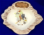 Click here to enlarge image and see more about item 350: Sequoia National Park Souvenir Ashtray/Dish