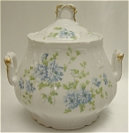 Click here to enlarge image and see more about item 362: Charles Ahrenfeldt Limoges Sugar Bowl