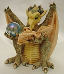 Click here to enlarge image and see more about item 405: Fenwick the Self Taught Pocket Dragon