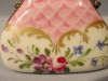 Click to view larger image of French Limoges Hand Painted Floral Miniature Purse (Image2)