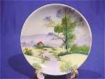 Click here to enlarge image and see more about item 670: Ucago Hand Painted Mini Plate #1