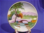 Click here to enlarge image and see more about item 671: Ucago Hand Painted Mini Plate #2