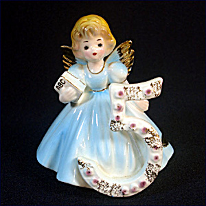Josef Originals 5th Birthday Angel Girl Figurine (Image1)