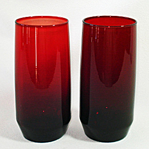 Anchor Hocking Pair 16 Ounce Ice Tea Tumblers (Image1)