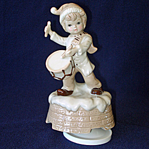 Little Drummer Boy Price Music Box Figurine