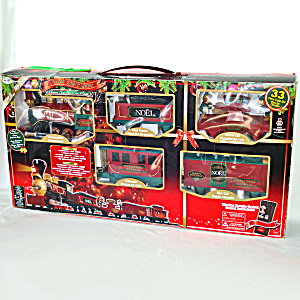 North Pole Express Christmas Train Set