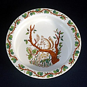 Tiffany and Co. England Childs Squirrel Feeding Bowl Dish (Image1)
