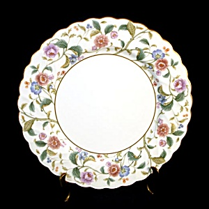 Noritake La Prada Bone China Floral Dinner Plates