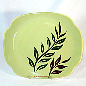 Continental Kilns 1950s Tropical Serving Platter (Image1)