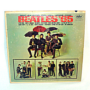 Beatles '65 LP Vinyl Record Album (Image1)