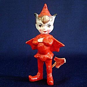 Kreiss 1955 Devil Pixie Ceramic Figurine (Image1)
