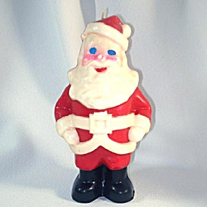 Gurley Large Santa Claus Figural Christmas Candle (Image1)