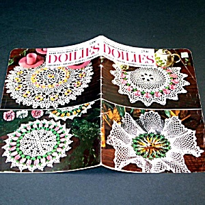 American Thread Crochet Flower Doilies Pattern Booklet (Image1)