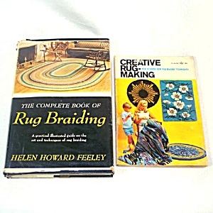 Complete Book Of Rug Braiding, Creative Rug Making Books