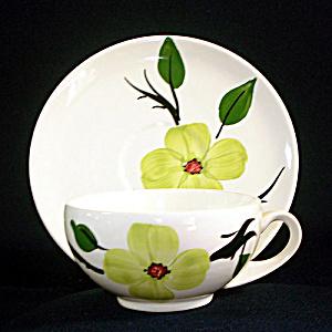 Blue Ridge Southern Dogwood Cup And Saucer
