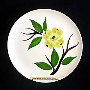 Dixie Dogwood Joni Stetson Dinner Plate, 9 Available (Image1)