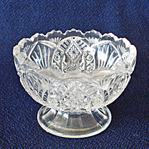 Higbee Arrowhead In Oval Madora Eapg Salt Dip Low Compote