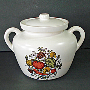 Mccoy Spice Delight Bean Pot Cookie Jar