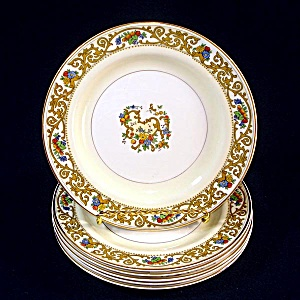 6 Johnson Brothers St. Cloud Bread Plates
